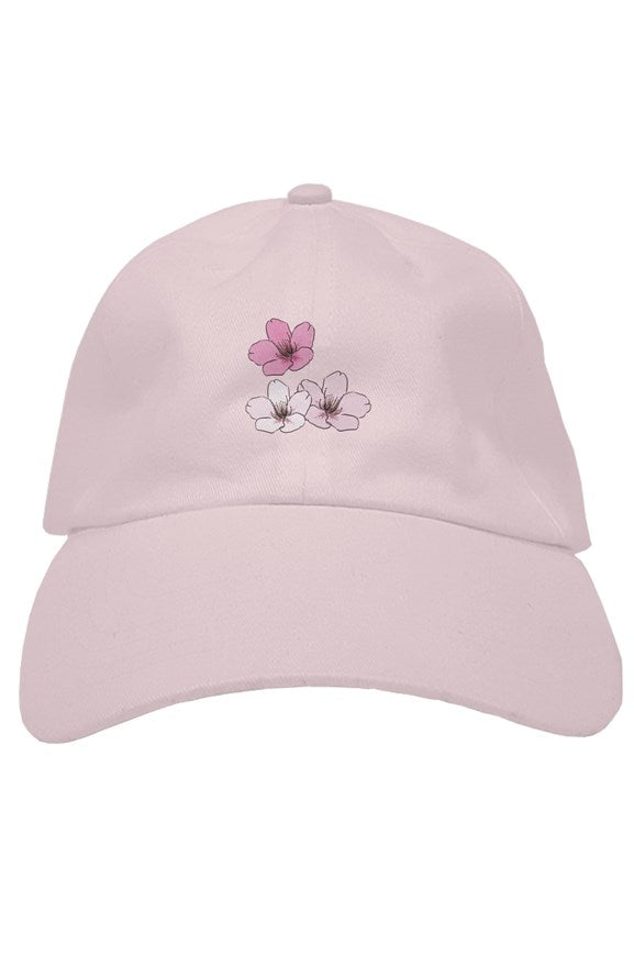 Sakura (桜) Dad Hat, hats for men, womens hats