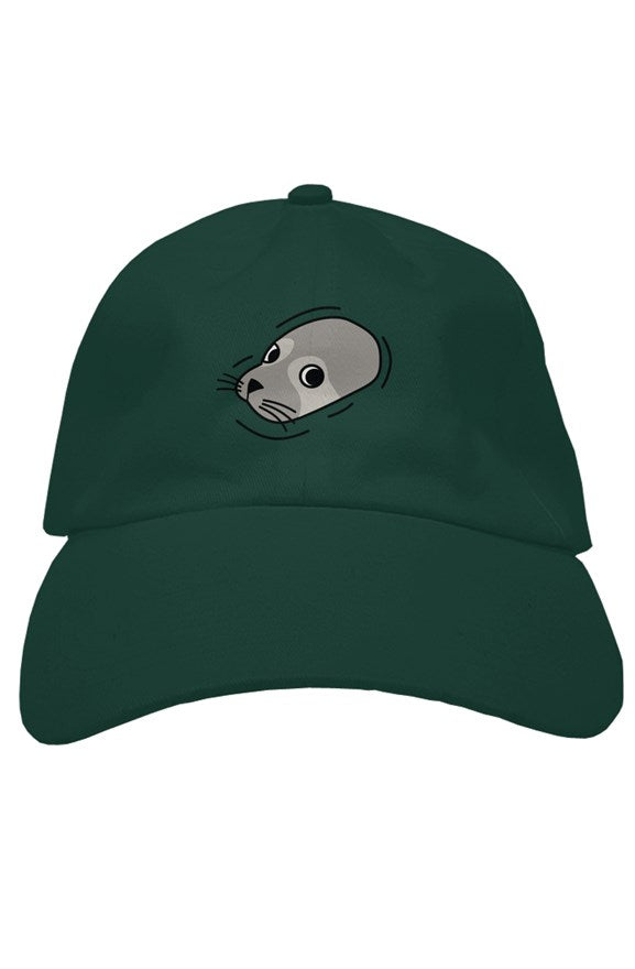 Sam, the Grey Seal Dad Hat, hats for men, womens hats