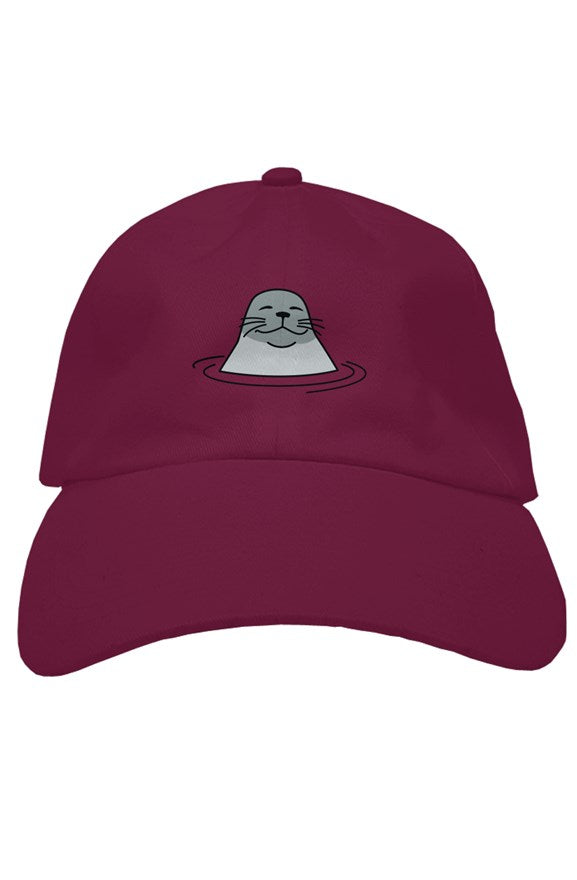 Joel, the Harbor Seal Dad Hat, hats for men, womens hats