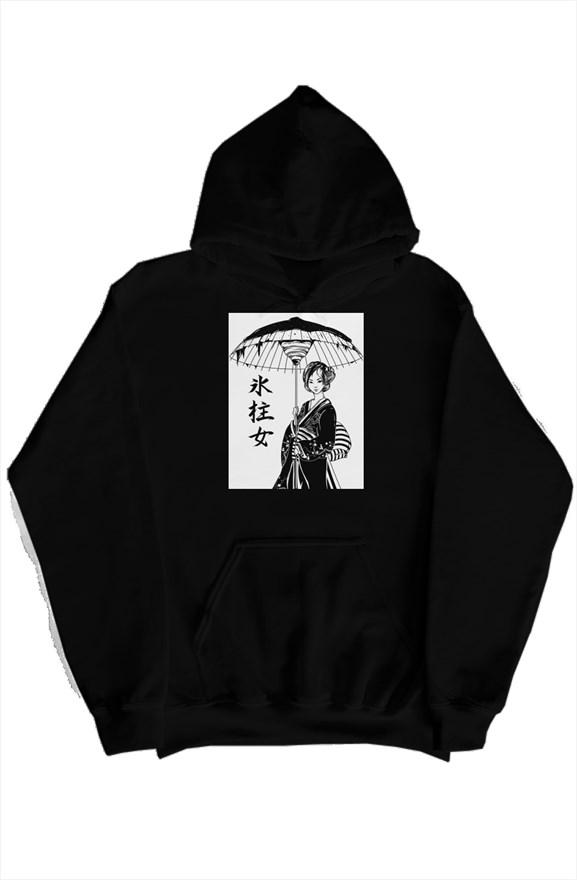 Tsurara Onna (つらら女) Unique Graphic Hoodie For Boys, Hoodies for Girls