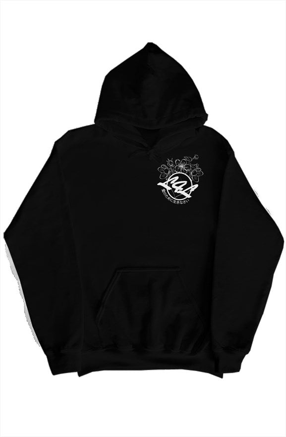 L4L Cherry Blossom Logo Hoodie, Comes in Black and White Variant