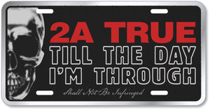 2A True License Plate • COMING SOON