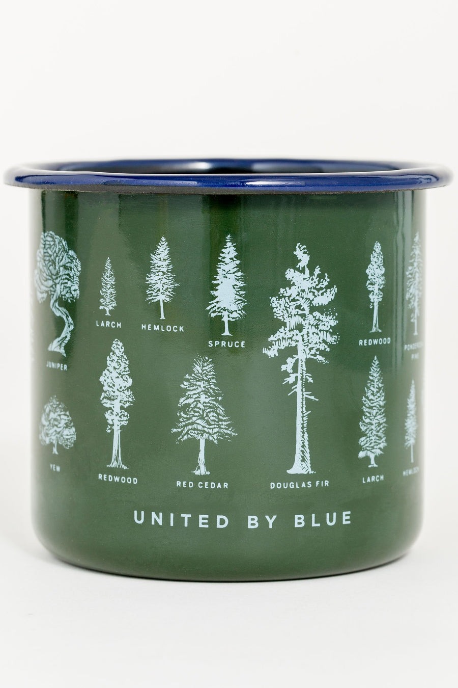 United by Blue Evergreen Enamel 22 oz. Mug