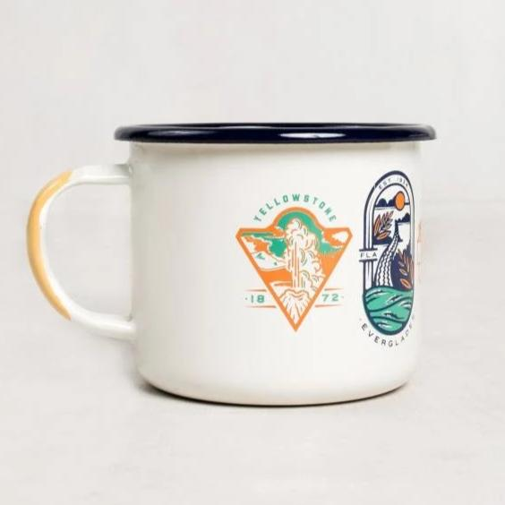 United by Blue National Parks Enamel 22 oz. Mug