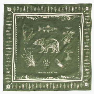 United by Blue Field Guide Bandana