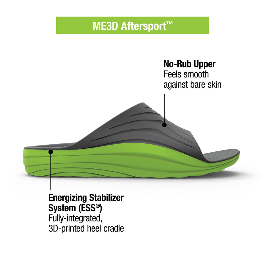 Superfeet ME3D Custom Aftersport Recovery Sandal