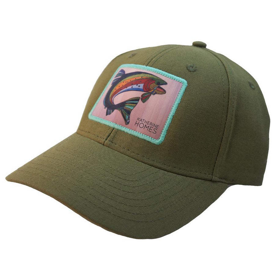 Katherine Homes Colorado Greenback Cutthroat Trout Structured Hat