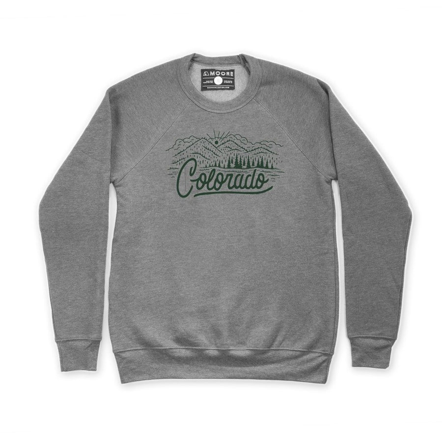 Moore Collection Colorado Crewneck Sweater Grey