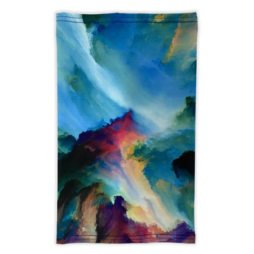 Colorado Threads Watercolor Neck Gaiter