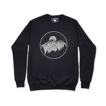Moore Collection Night Sky Crewneck Sweater