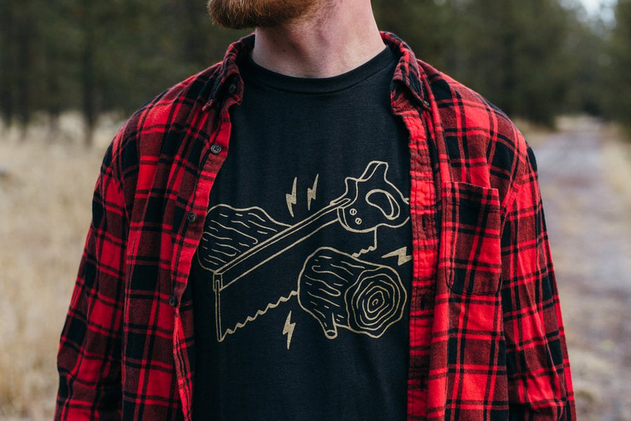 Unisex Moore Collection Wood Cut Tee