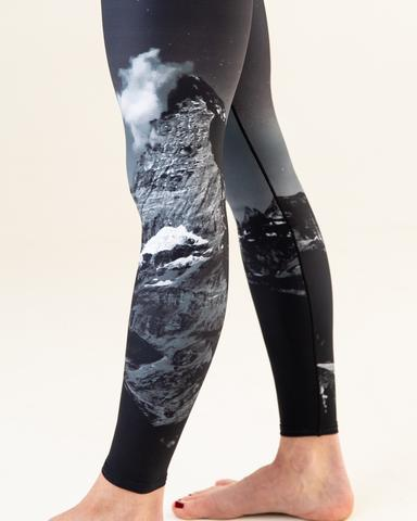 Women's Colorado Threads Midnight Mountain Yoga Tights