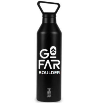 Miir Go Far 23oz Vacuum Insulated Bottle, Black