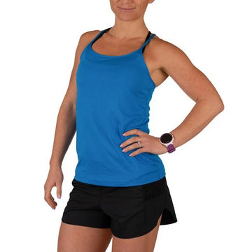 Women's rabbit Criss Cross Tank