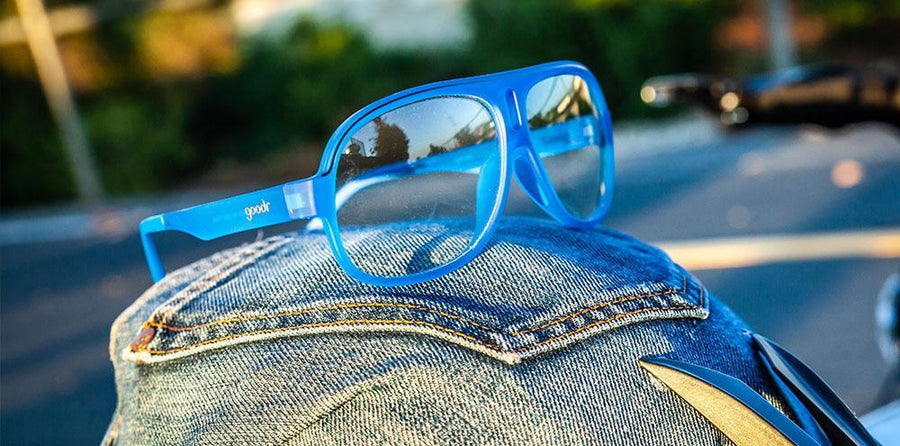 Goodr Superfly Jorts for Your Face Sunglasses