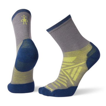 Men's Smartwool PhD® Run Cold Weather Mid Crew Sock
