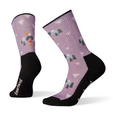Women's Smartwool Hike Light Under The Stars Print Crew Sock