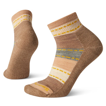 Women's Smartwool Hike Light Mini Sock in Camel