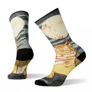 Men's Smartwool Curated Tiger Within Crew Sock