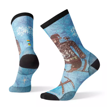 Men's Smartwool Curated Game Of Ghosts Crew Sock