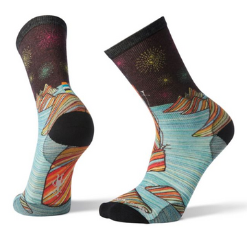 Men's Smartwool Curated Rainbow Mountain Climb Crew Socks