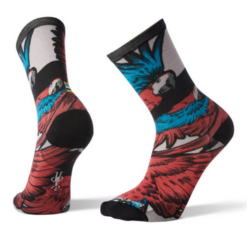 Men's Smartwool Curated Pandemonium Of Parrots Crew Sock
