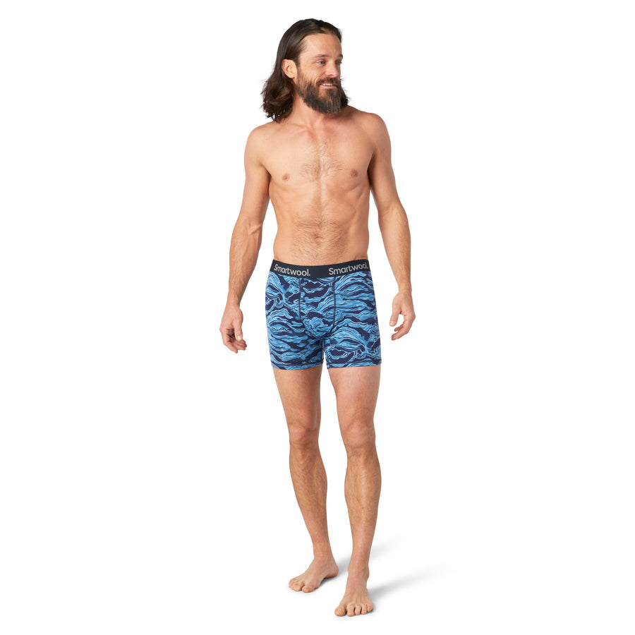 Men's Smartwool Merino 150 Print Boxer Brief