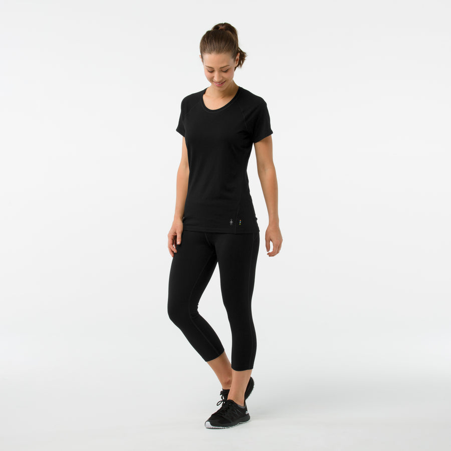 Women's Smartwool Merino 150 Base Layer Short Sleeve - Black
