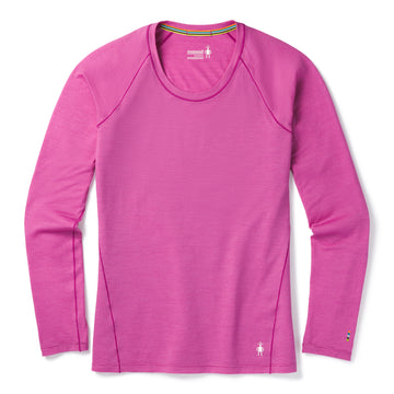 Women's Smartwool Merino 150 Base Layer Micro Stripe Long Sleeve - Pink