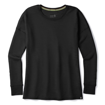 Women's Smartwool Everyday Exploration Slub Long Sleeve - Black