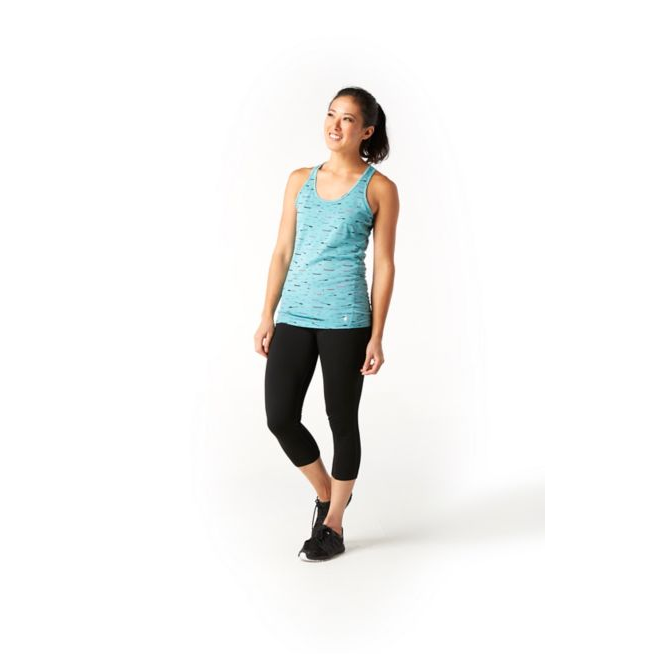 Women's Smartwool Merino 150 Base Layer Print Tank