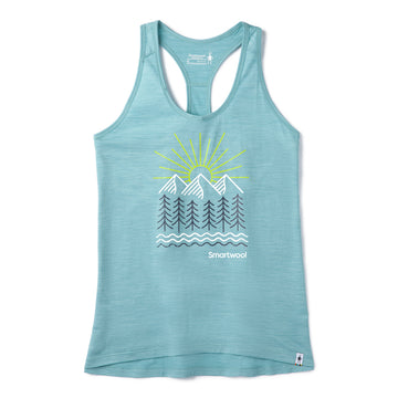 Women's Smartwool Merino Sport 150 Mountain Morning Tank