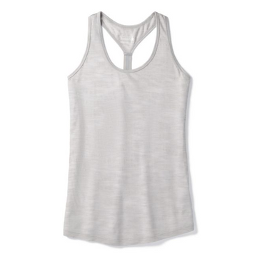 Women's Smartwool Everyday Exploration Slub Tank - Ash Heather