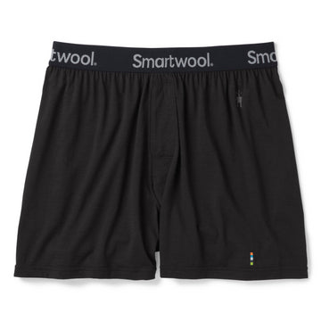 Men's Smartwool Merino 150 Boxer Shorts - Black