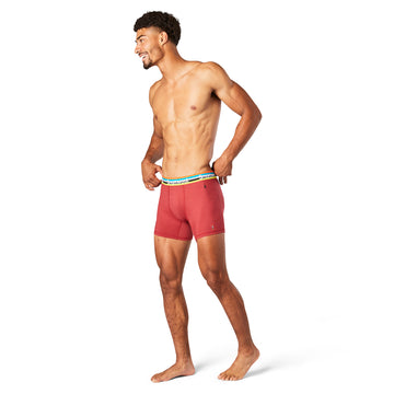 Men's Smartwool Merino Sport 150 Boxer Brief in Masala