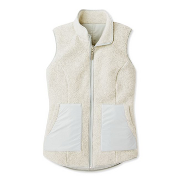 Women's Smartwool Anchor Line Reversible Sherpa Vest