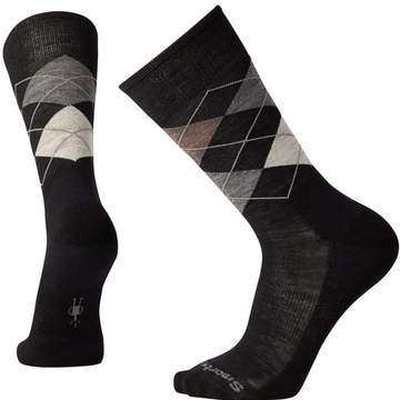 Men's Smartwool Diamond Jim Socks - Black/Fossil