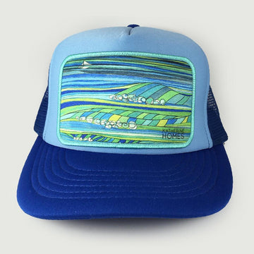 Katherine Homes Ocean Trucker Hat