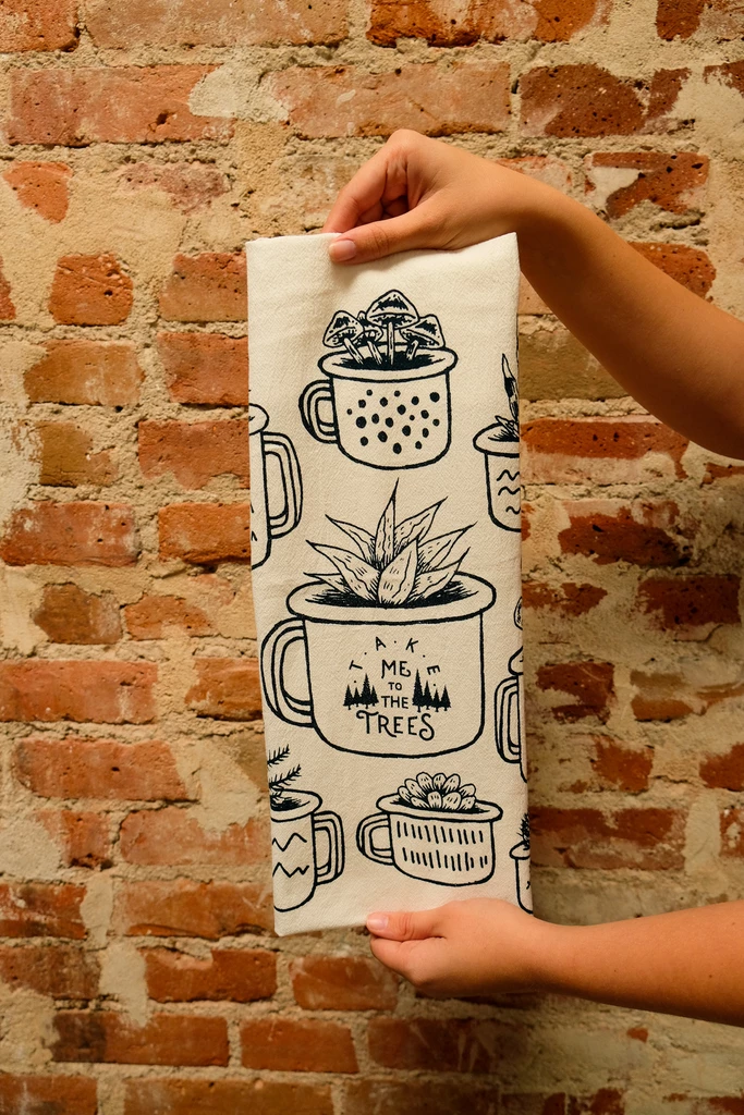 Moore Collection Planter Tea Towel