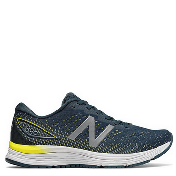 Men's New Balance 880 v9 Running Shoe Navy Blue Side View