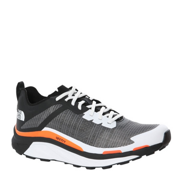 Men's The North Face VECTIV Infinite Trail Running Shoe in Black and White