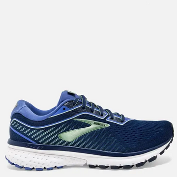 Women's Brooks Ghost 12 Running Shoe, blue, side view