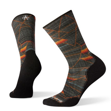 Men's Smartwool PhD® Outdoor Light Margarita Mash-Up Print Crew Sock