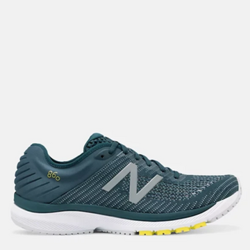 Men's New Balance 860 v10 Running Shoe, Blue, Side view