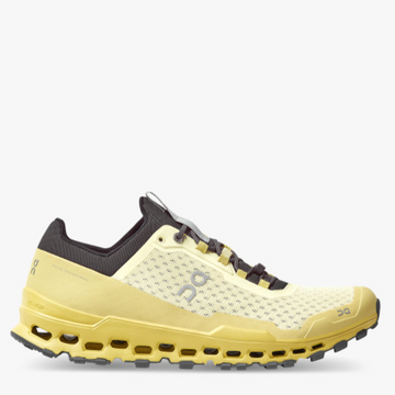Men's On Running Cloudultra Trail Running Shoe in Yellow
