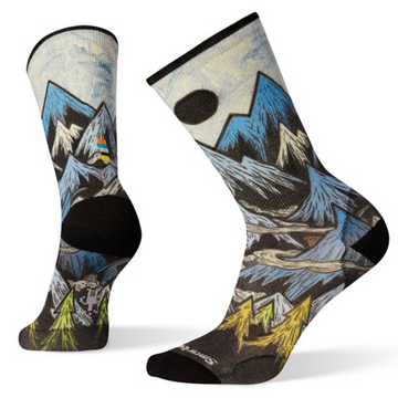 Men's Smartwool Curated Mountain Ventures Crew Sock
