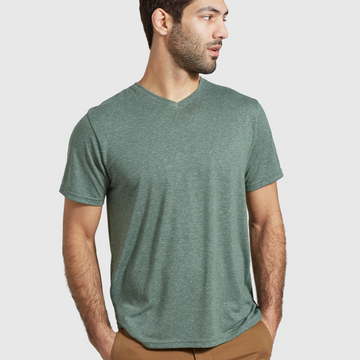 Men's United by Blue EcoKnit™ V-Neck Tee