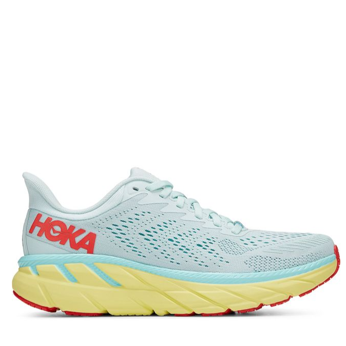 Women's Hoka Clifton 7 Running Shoe in Morning Mist