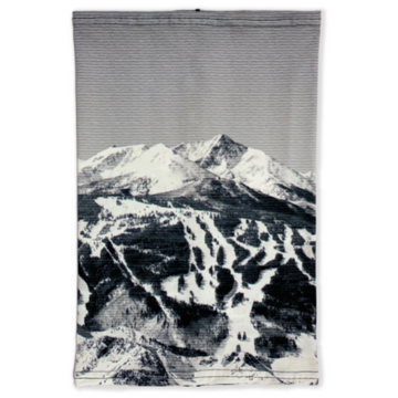 Colorado Threads Black & White Ski Hill Neck Gaiter