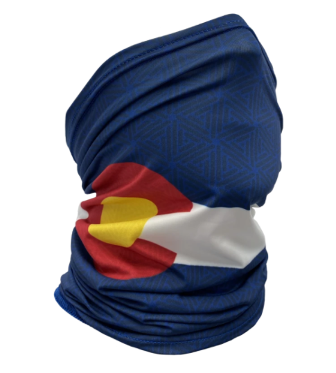 Colorado Threads Colorado Flag Neck Gaiter